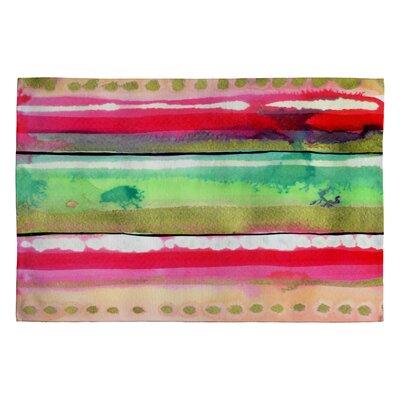 CayenaBlanca Ink Stripes Rug Rug Size: 2 x 3