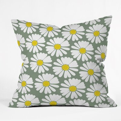 Georgiana Paraschiv Chamomile Throw Pillow Size: Large