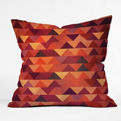 Trianglerain Throw Pillow Size: Small