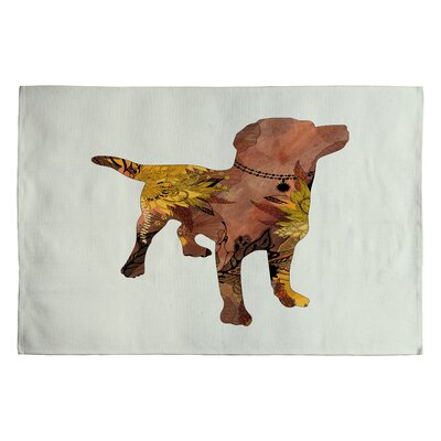 Brown Lab Rug Rug Size: 2 x 3
