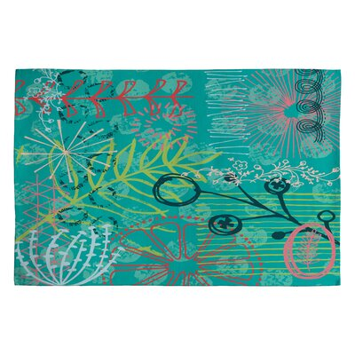 Kerrie Satava Summer Burst Rug Rug Size: 2 x 3