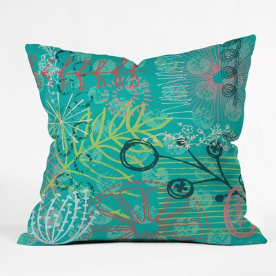 Kerrie Satava Summer Burst Throw Pillow Size: Small