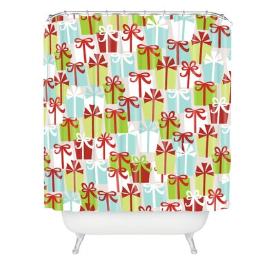 Andrea Victoria Jolly Gifts Shower Curtain