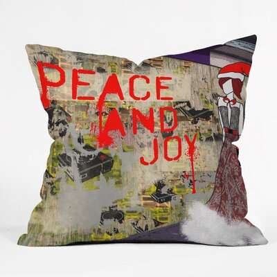 Amy Smith Urban Holiday Throw Pillow Size: Large