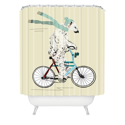 Brian Buckley Polar Bear Days Shower Curtain