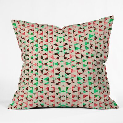 Caleb Troy Holiday Tone Shards Throw Pillow Size: Large