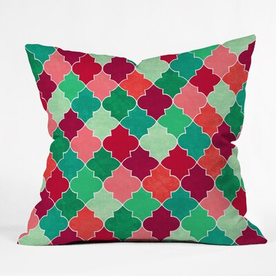 Jacqueline Maldonado Morocco Christmas Throw Pillow Size: Large