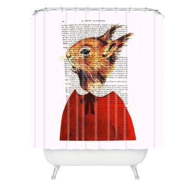 Coco De Paris Little Squirrel Shower Curtain