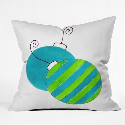 Laura Trevey Tis The Season Throw Pillow Size: Large