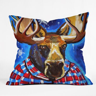 Renie Britenbucher Mahatma Throw Pillow Size: Large