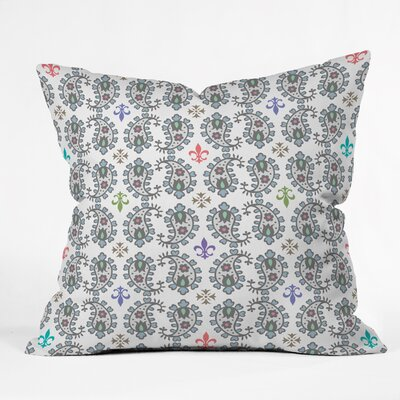 Andi Bird Paisley Ornamental Throw Pillow Size: Medium