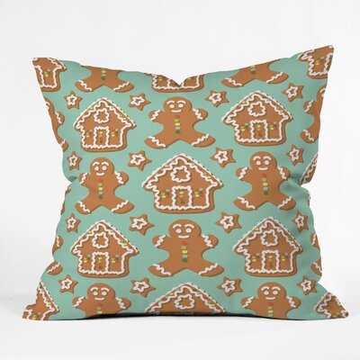 Sabine Reinhart Christmas Kitchen Throw Pillow Size: Large