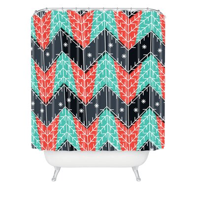 Sam Osborne Christmas Trees Shower Curtain