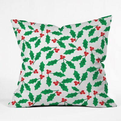 Zoe Wodarz Holly Day Throw Pillow Size: Large
