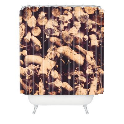 The Light Fantastic Kindling Shower Curtain