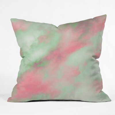 Caleb Troy Pastel Christmas Throw Pillow Size: Large