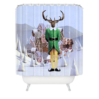 Natt Elfland Shower Curtain