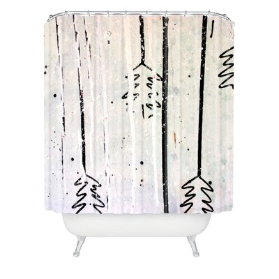 Kent Youngstrom Holiday Trees Shower Curtain