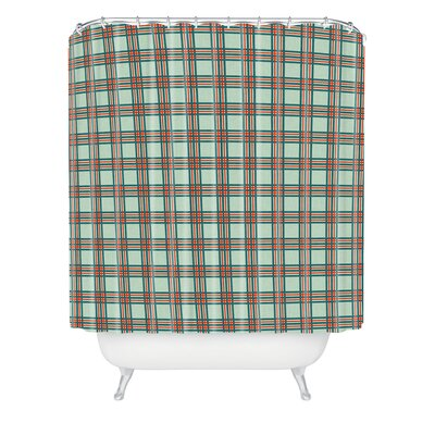 Holli Zollinger Box Plaid Shower Curtain