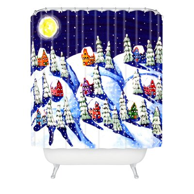 Renie Britenbucher Silent Night Shower Curtain