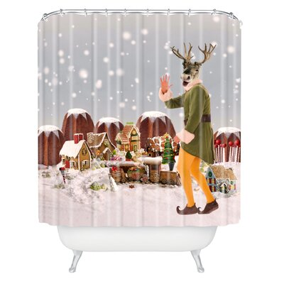 Natt Rudolph Shower Curtain