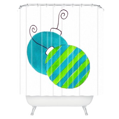 Laura Trevey Tis The Season Shower Curtain