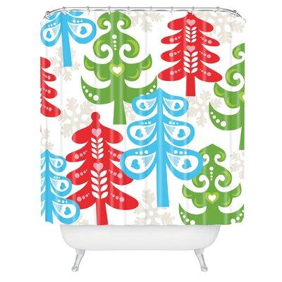 Zoe Wodarz Forest Tales Shower Curtain