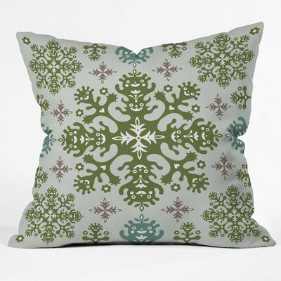 Andi Bird Monstrous Throw Pillow Size: Large, Color: Earth