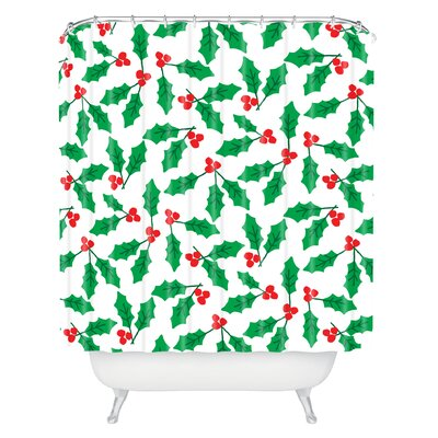 Zoe Wodarz Holly Day Shower Curtain
