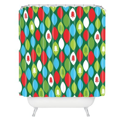 Zoe Wodarz Mini Forest Shower Curtain
