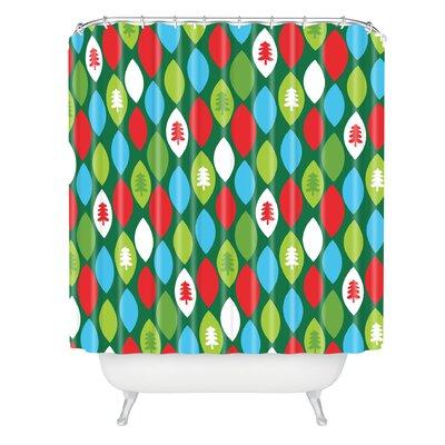 Zoe Wodarz Mini Forest Shower Curtain