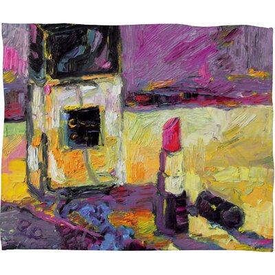 Ginette Fine Art Coco Throw Blanket Size: Medium