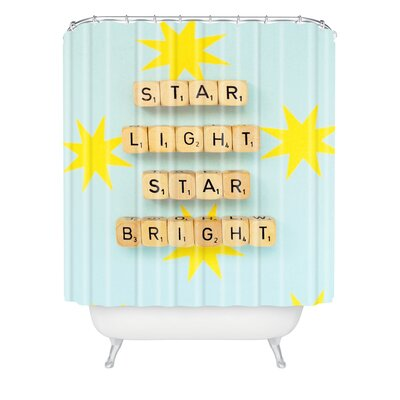 Happee Monkee Star Light Star Bright Shower Curtain