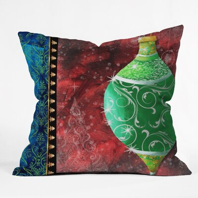 Madart Inc. Elegante Throw Pillow Size: Small