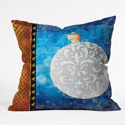 Madart Inc. Elegante Throw Pillow Size: Medium