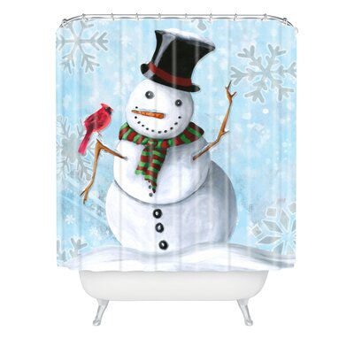 Madart Inc. Winter Cheer Shower Curtain