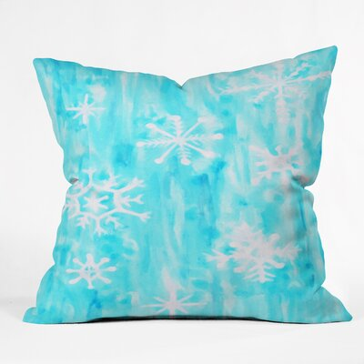 Rosie Brown Snowing Throw Pillow Size: Small