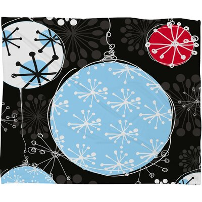 Rachael Taylor Bauble Magic Plush Fleece Throw Blanket Size: Large