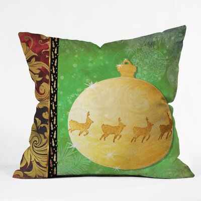 Madart Inc. Elegante Throw Pillow Size: Extra Large