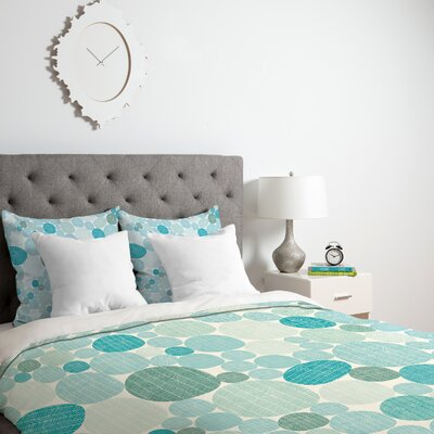 Eggs I Duvet Cover Size: King, Fabric: Lightweight
