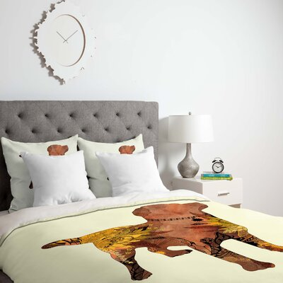 Lab Duvet Cover Size: Queen, Fabric: Lightweight