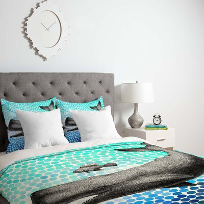 Garima Dhawan New Friends 3 Duvet Cover Size: King, Fabric: Lightweight