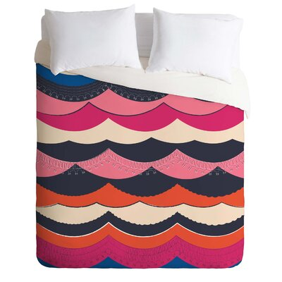 Vy La Unwavering Love Duvet Cover Size: Queen, Fabric: Lightweight