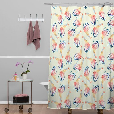 Jacqueline Maldonado Giraffe Shower Curtain