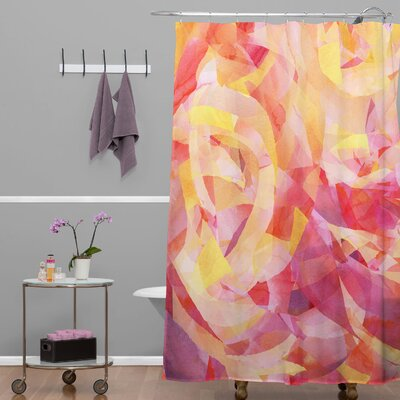 Jacqueline Maldonado Concentric Shower Curtain