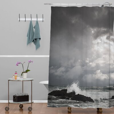 Bird Wanna Whistle Water Shower Curtain