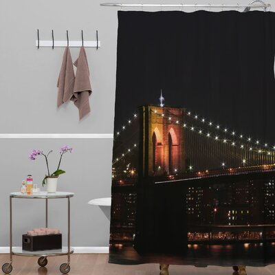 Leonidas Oxby Brooklyn Bridge 2 Shower Curtain