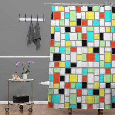 Jacqueline Maldonado Geo Shower Curtain