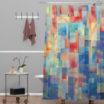 Jacqueline Maldonado Torrentremix Shower Curtain