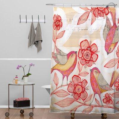 Cori Dantini Sprinkling Sound Shower Curtain